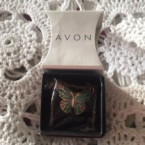 Avon 2013 New Sealed Butterfly Necklace